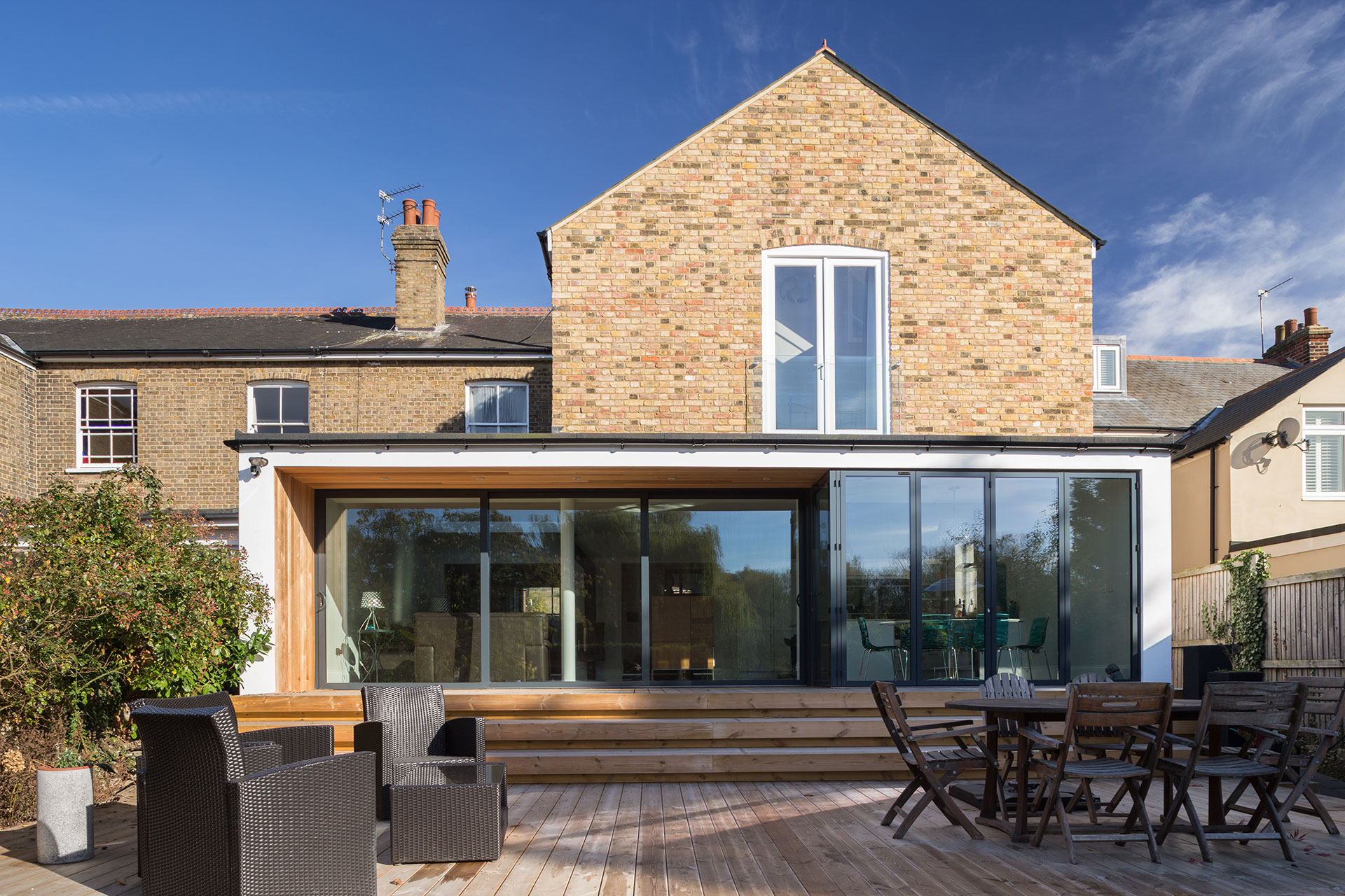 Completed Extension Cappell Lane, Stanstead Abbotts